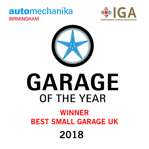 Garage of the Year 2018